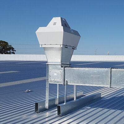 Roof Top air intake